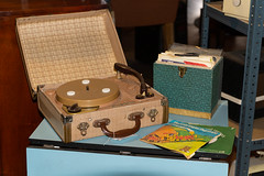 Vintage portable record player (AlexRobson98) Tags: sony a65 beamish museum steam fair 2019 vintage portable record player