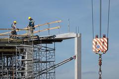 Nieuw-Zuid_06 (jefvandenhoute) Tags: antwerp antwerpen belgium belgië nieuwzuid light construction city