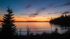 Canadian sunset - HSS! (RPahre) Tags: backpacking toddharbor sunset ontario canada thunderbay isleroyalenationalpark isleroyale michigan lakesuperior greatlakes robertpahrephotography donotusewithoutpermission copyrighted allrightsreserved