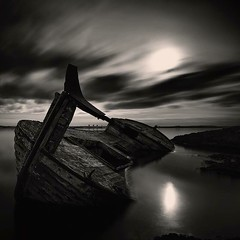 Ghost ship (frodi brinks photography) Tags: blackandwhite shipwreck ghostship frodibrinks iceland