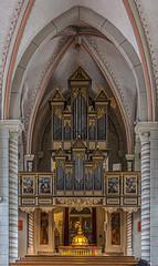 Die Orgel in St. Jakobus der Ältere in Goslar (ulrichcziollek) Tags: niedersachsen goslar gotik gotisch gewölbe kirche kirchenschiff orgel