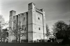 Château de Chambois (XIIe s) (Philippe_28) Tags: chambois château castle 61 orne normandie normandy argentique analogue camera photography photographie film 120 6x9 medium moyen format folding