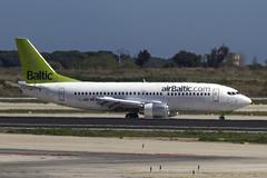 YL-BBR | Air Baltic | Boeing B737-31S | CN 29266 | Built 1998 | BCN/LEBL 30/03/2017 | ex G-OTDA, D-ADBV (Mick Planespotter) Tags: aircraft airport 2017 nik sharpenerpro3 elprat barcelona ylbbr air baltic boeing b73731s 29266 1998 bcn lebl 30032017 gotda dadbv b737