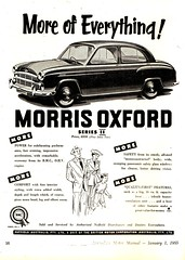 1955 Morris Oxford Series II Sedan British Motor Corporation BMC Aussie Original Magazine Advertisement (Darren Marlow) Tags: 1 5 9 19 55 1955 m morris o oxford s series i ii saloon sedan c car cool collectible collectors classic chrome a automobile v vehicle e english emgland b british britain 50s