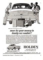 1957 FE Holden Special Sedan Aussie Original Magazine Advertisement (Darren Marlow) Tags: 1 5 7 9 19 57 1957 f e fe h holden s special sedan c car cool collectible collectors classic chrome a automobile v vehicle g m gm gmh general motors aussie australian australia 50s