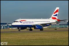 G-EUPL - Manchester Airport (Tf91) Tags: geupl airbus a319 manchester manchesterairport egcc man speedbird britishairways