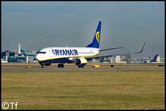 SP-RSA - Manchester Airport (Tf91) Tags: manchester manchesterairport boeing b737 737800 sprsa ryanair ryanairsun man egcc