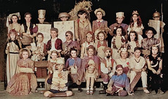 The school play (theirhistory) Tags: boy child children kid girl school class form wellies wellingtonboots jumper shorts