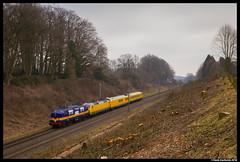 Railexperts 1251, Oldenzaal 09-03-2018 (Henk Zwoferink) Tags: delutte overijssel netherlands railexperts henk zwoferink 1251 1200 db systemtechniek messzug meettrein