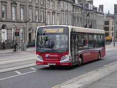 Border Buses ADL E20D Alexander Dennis Enviro 200 YY17GSZ 11717 operating service X62 to Melrose at York Place, Edinburgh, on 20 May 2019. (Robin Dickson 1) Tags: westcoastmotors craigofcampbeltown busesedinburgh ade20d bordersbuses alexanderdennisenviro200 adlenviro200 yy17gsz