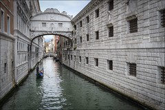 Obligatory View! (Sue Sayer) Tags: venice gondola bridgeofsighs europe italy canal palace prison dogespalace
