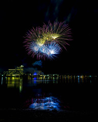 WA Day Fireworks (alme 27) Tags: australia fireworks crown water night river perth swanriver southpacfic waday westernaustralia longexposure pentax sigmalens k3ii cardileinternationalfireworks