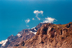 Northern Pakistan (Sherazdionysus) Tags: landscape peaks snowy snow snowypeaks northern 35mmpakistan 35mmphotography 35mmcamera analogphotography analogshooter analogcamera lomography100 helios44m