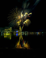 WA Day Fireworks (alme 27) Tags: australia crown fireworks night perth river southpacfic swanriver waday water westernaustralia pentax k3ii sigmalens longexposure cardileinternationalfireworks