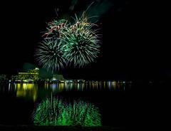 WA Day Fireworks (alme 27) Tags: night fireworks australia crown river perth swanriver southpacfic water westernaustralia waday longexposure pentax sigmalens k3ii cardileinternationalfireworks