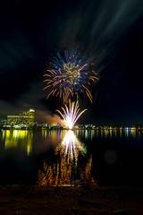 WA Day Fireworks (alme 27) Tags: night fireworks australia crown water river perth westernaustralia swanriver southpacfic waday longexposure pentax sigmalens k3ii cardileinternationalfireworks