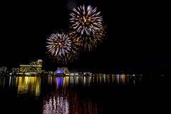 WA Day Fireworks (alme 27) Tags: australia crown night fireworks perth water river westernaustralia swanriver southpacfic waday longexposure pentax sigmalens k3ii cardileinternationalfireworks