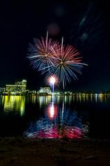 WA Day Fireworks (alme 27) Tags: fireworks australia crown night river perth swanriver southpacfic water westernaustralia waday longexposure pentax sigmalens k3ii cardileinternationalfireworks