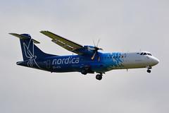 ES-ATA Nordica ATR 72-600 EGNX 28/4/19 (David K- IOM Pics) Tags: egnx ema east midlands airport es esata atr atr72 72 72600 at76 nordica flybe
