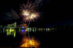 WA Day Fireworks (alme 27) Tags: night fireworks australia crown river perth southpacfic water westernaustralia swanriver waday longexposure pentax sigmalens k3ii cardileinternationalfireworks