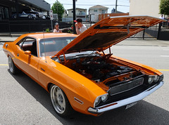1970 Dodge Challenger R/T (D70) Tags: 1970 dodge challenger hatsoffday hastingsstreet burnabyheights britishcolumbia canada
