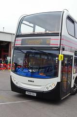 IMGP9929 (Steve Guess) Tags: whitelund morecambe lancashire england gb uk bus stagecoach alexander dennis adl enviro 400 timesaver heritage retro livery ribble centenary