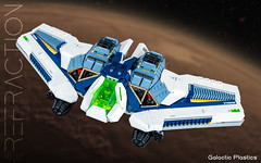 Refraction R/99 (tardisblue) Tags: lego space moc spaceship refraction starfighter