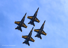 Diamond Formation (Kool Cats Photography over 12 Million Views) Tags: blueangels blue sky formation formationflying event airshow clouds precisionflying plane planes aircraft fighter jet fa18 navy photography aviationphotography oklahoma outdoor oklahomacity oklahomacityoklahoma okc canon canont3i tamron16300mmf3563diiivcpzdb016