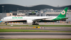 EVA Air Boeing 777-35E/ER B-16711 (StephenG88) Tags: londonheathrowairport heathrow lhr egll 27r 27l 9r 9l boeing airbus may20th2019 20519 myrtleavenue renaissanceheathrow eva evaair br evergreeninternationalairways 777 77w 777300er 77735eer 773 b16711