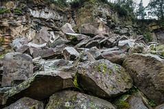 De las entrañas de la Tierra (SantiMB.Photos) Tags: 2blog 2tumblr 2ig santjoanlesfonts garrotxa girona invierno winter boscarró basalto basalt cantera quarry roca rock geo:lat=4221533780 geo:lon=251056820 geotagged cataluna españa