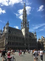 Brussels (frankieleon) Tags: sunny travel european grandplace brussels belgium