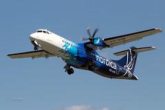 A56A3250@L6 (Logan-26) Tags: atr atr72600 72212a esatb msn 1028 nordica tallinn lennart meri airport tlleetn estonia aleksandrs čubikins fly flying blue sky
