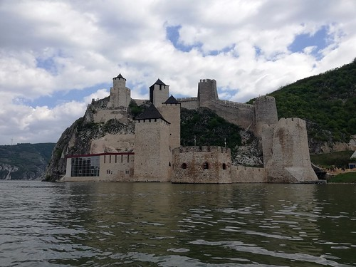 Golubac fortress from Danube
