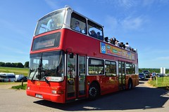 PVL224 Y824TGH (PD3.) Tags: bus buses coach grandstand races racing derby 2019 epsom downs epsomdowns surrey investec open top topless topper pvl224 pvl 224 y824tgh y824 tgh goahead go ahead volvo plaxton president