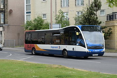 SCNL 25223 @ Queen Street/Euston Road, Morecambe (ianjpoole) Tags: stagecoach cumbria north lancs optare versa v1100 px08csf 25223 working route 6a morecambe bus station lancaster