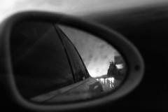 .to see things without attachment. (Camila Guerreiro) Tags: film ilford pentaxmesuper rain analog bw southkorea camilaguerreiro seoul grain ilfordpan100