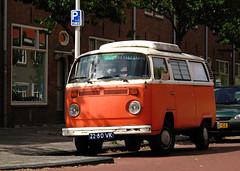 1973 Volkswagen Transporter 1600 (T2) (rvandermaar) Tags: 1973 volkswagen transporter 1600 t2 volkswagentransporter volkswagent2 vwtransporter vwt2 sidecode2 2280vk