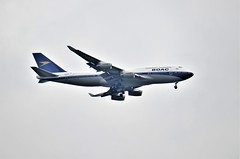 British Airways G-BYGC (stavioni) Tags: ba british airways boac livery retro boeing 747 ba100 gbygc ba268 aeroplane plane flight