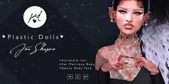Plastic Dolls - Jen Shape (RoxxyPink) Tags: shape avatar ava avi plasticdolls plastic doll dolls fashionuschies fashion uschies sexy cute genus babyface face baby style styling new bento shop shopping