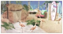 ► ﹌ Flamingo Island.﹌ ◄ (яσχααηє♛MISS V♛ FRANCE 2018) Tags: tlchomecollection astralia blog blogger blogging bloggers bento homegarden lesclairsdelunedesecondlife lesclairsdelunederoxaane poses photographer posemaker photography artistic art roxaanefyanucci secondlife sl shopping designers virtual