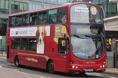 National Express West Midlands Volvo B7TL/Wright Eclipse Gemini 4524 (BU53 UNE) (West Bromwich) (john-s-91) Tags: nationalexpresswestmidlands volvob7tl wrighteclipsegemini 4524 bu53une birmingham route74e adogsjourney