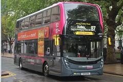National Express West Midlands Alexander Dennis Enviro400 MMC 6980 (SK19 EPU) (West Bromwich) 'Alexia Rose' (john-s-91) Tags: nationalexpresswestmidlands alexanderdennisenviro400mmc 6980 sk19epu birmingham route87 graze2019