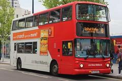 National Express West Midlands Transbus Trident 2/Transbus ALX400 4544 (BL53 EEA) (Yardley Wood) (john-s-91) Tags: nationalexpresswestmidlands transbustrident2 transbusalx400 4544 bl53eea birmingham route6 graze2019