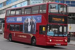 National Express West Midlands Transbus Trident 2/Transbus ALX400 4630 (BX54 XRW) (Birmingham Central) (john-s-91) Tags: nationalexpresswestmidlands transbustrident2 transbusalx400 4630 bx54xrw birmingham route14 mibinternational