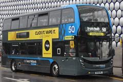 National Express West Midlands Alexander Dennis Enviro400 MMC 6907 (SK68 MFJ) (Yardley Wood) 'Zeta' (john-s-91) Tags: nationalexpresswestmidlands alexanderdennisenviro400mmc 6907 sk68mfj birmingham route50 logic2019