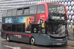 National Express West Midlands Alexander Dennis Enviro400 MMC 6969 (SK19 EOZ) (Yardley Wood) 'Johann' (john-s-91) Tags: nationalexpresswestmidlands alexanderdennisenviro400mmc 6969 sk19eoz birmingham route50 goodomens