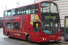 National Express West Midlands Volvo B7TL/Wright Eclipse Gemini 4529 (BU53 UNK) (Acocks Green) 'Caroline' (john-s-91) Tags: nationalexpresswestmidlands volvob7tl wrighteclipsegemini 4529 bu53unk birmingham route4a cocacolaenergy