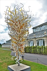 Opal and Amber Towers (stavioni) Tags: opal amber towers steel dale chihuly glass blown sculpture art kew gardens