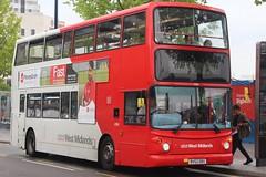 National Express West Midlands Dennis Trident 2/Alexander ALX400 4394 (BV52 OBX) (Yardley Wood) (john-s-91) Tags: nationalexpresswestmidlands dennistrident2 alexanderalx400 4394 bv52obx birmingham route6 moneygram2019