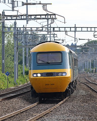 First and Last and Always (Treflyn) Tags: first always pioneer class 43 high speed train power car 43002 hammers along great western main line towards twyford station carmarthen london paddington leg flyingbanana tour last built 43198 rear final sight hst stretch wanted see one
